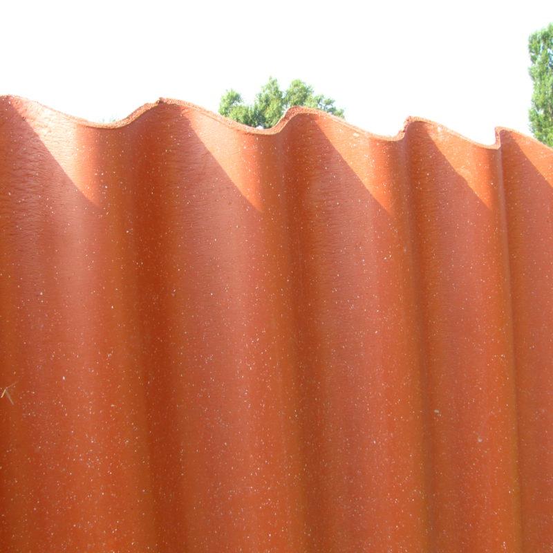 забор из кровли