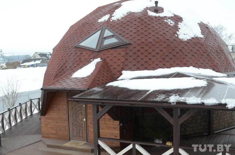 дом-геосфера