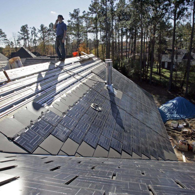 крыша Solar Roof