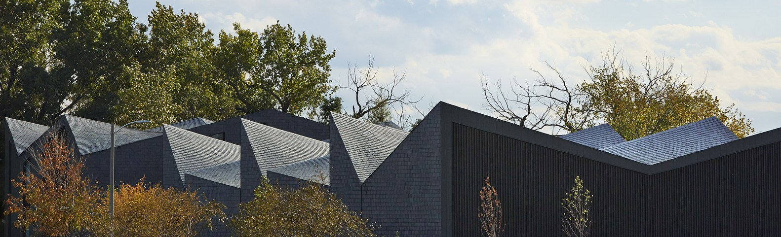 крыша из сланцевой плитки