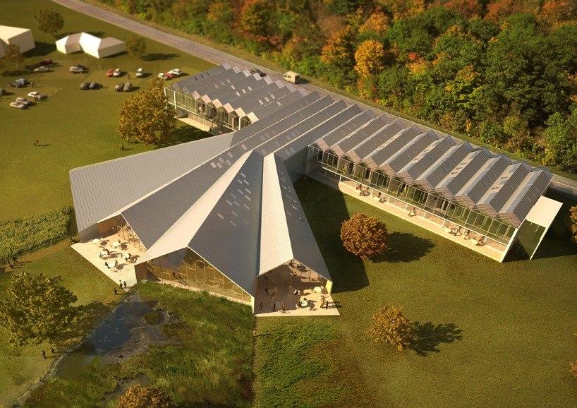 многоскатная крыша