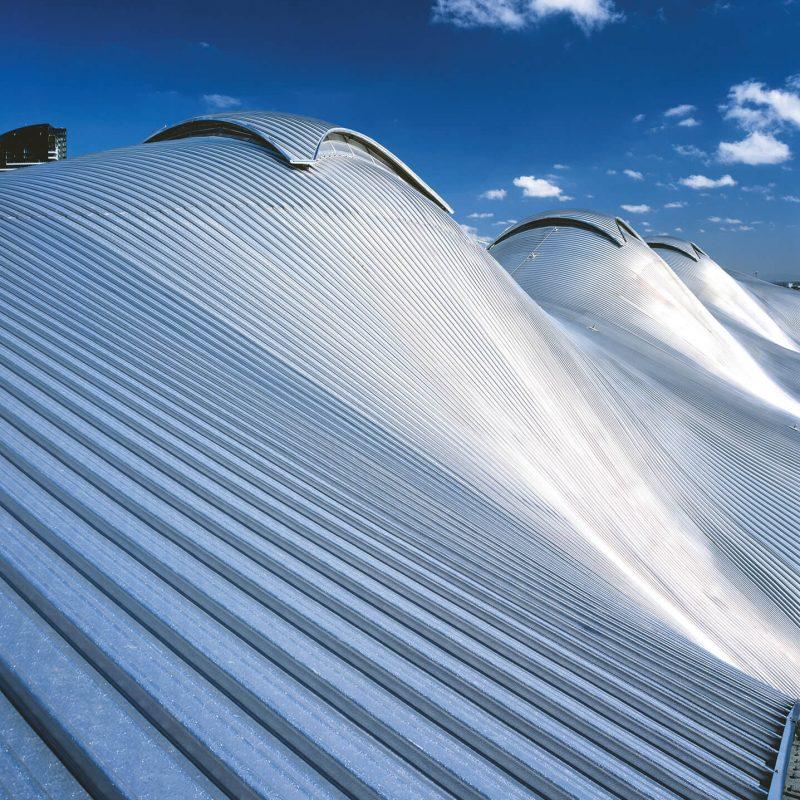 крыша волнистой формы