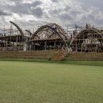 шатрообразные крыши крикетного стадиона в Руанде 6