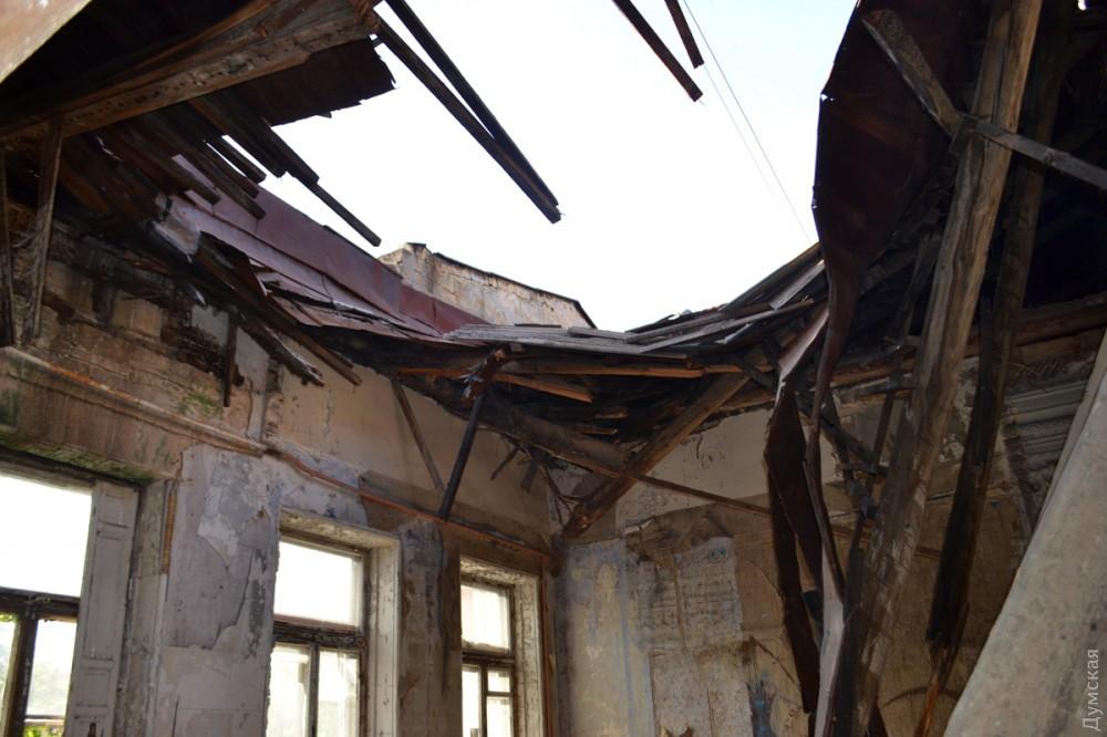 Более глобально трактуется то, к чему снится что провалилась крыша.