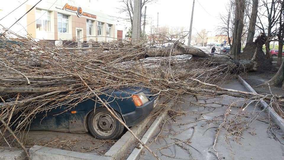Ураган в Кропивницком 1