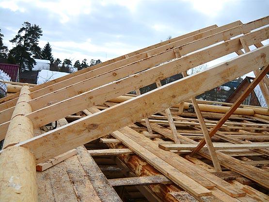 древесина для каркаса крыши