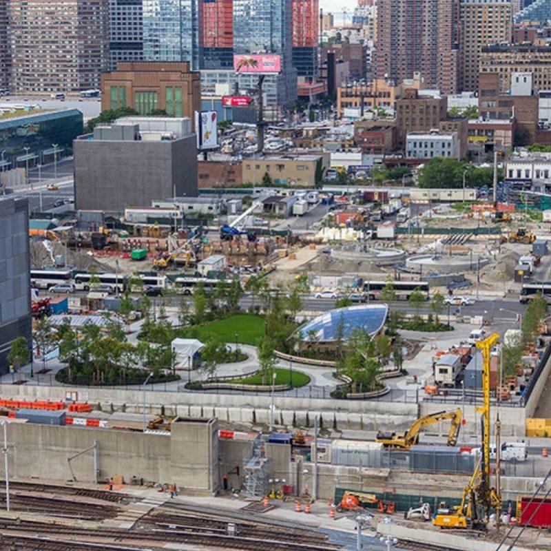 Новый парк в Нью-Йорке 3