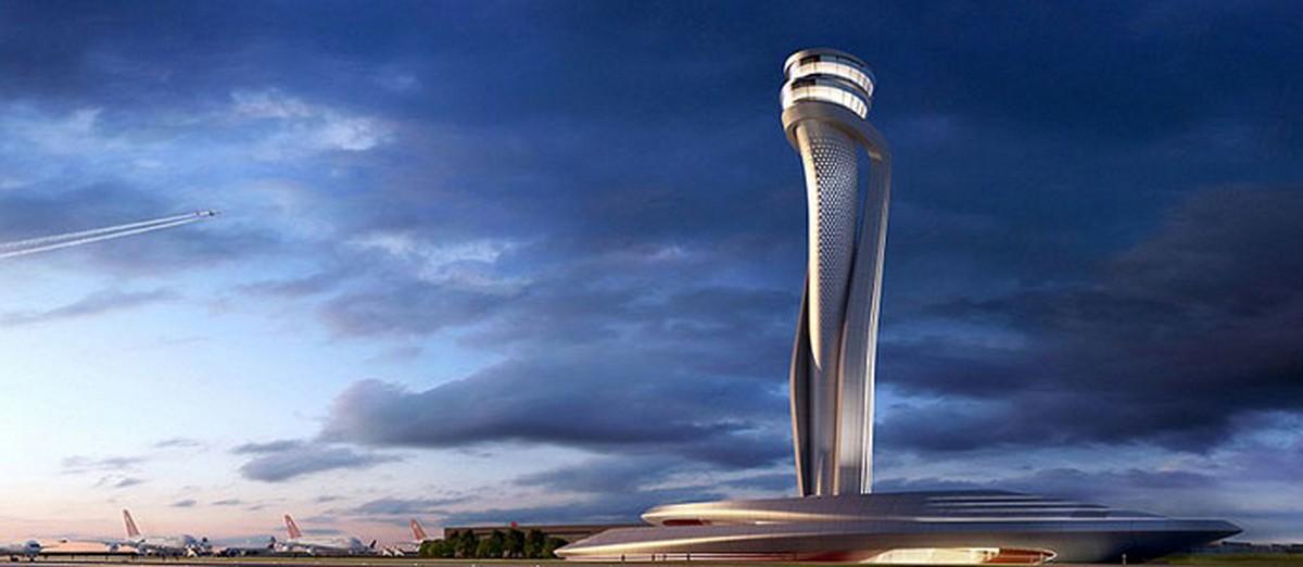 кровля нового аэропорта в Стамбуле