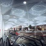 крыша аэропорта Стамбула