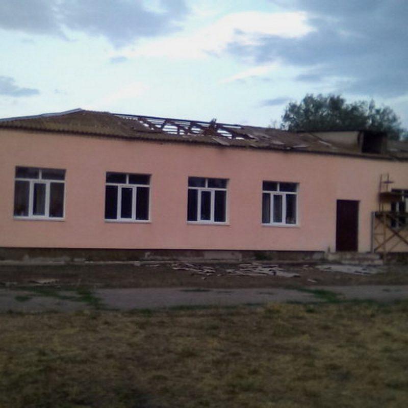 пострадали крыши