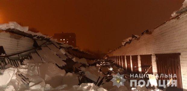 тяжести снега